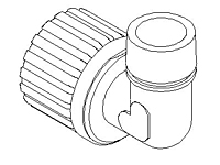 Elbow Adapter, Male NPT