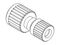 "Straight Adapter, Reducer, Flaretek® ""SpaceSaver"""