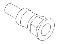 Straight Adapter, Flange Reducer, Flat Face